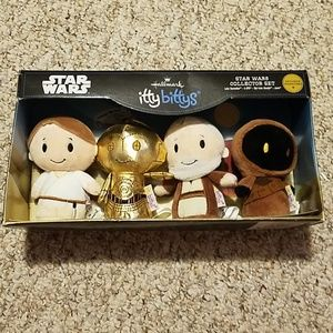 Star wars itty bittys hallmark set